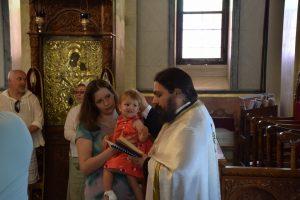 Jolies Christening